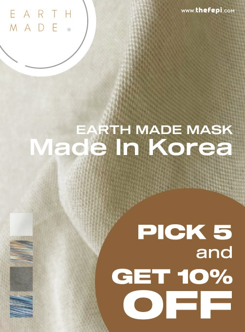 pick 5, get 10% off - earth made. mask